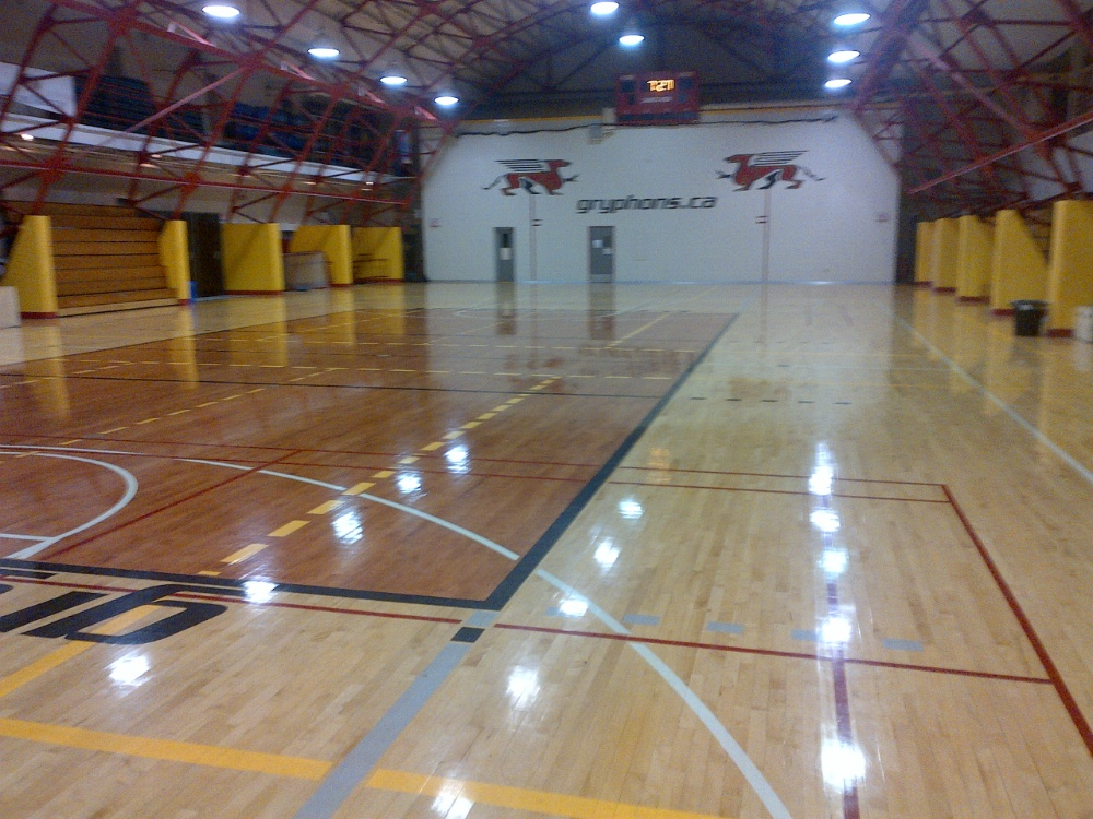 West Gym University Of Guelph Fitness And Recreation