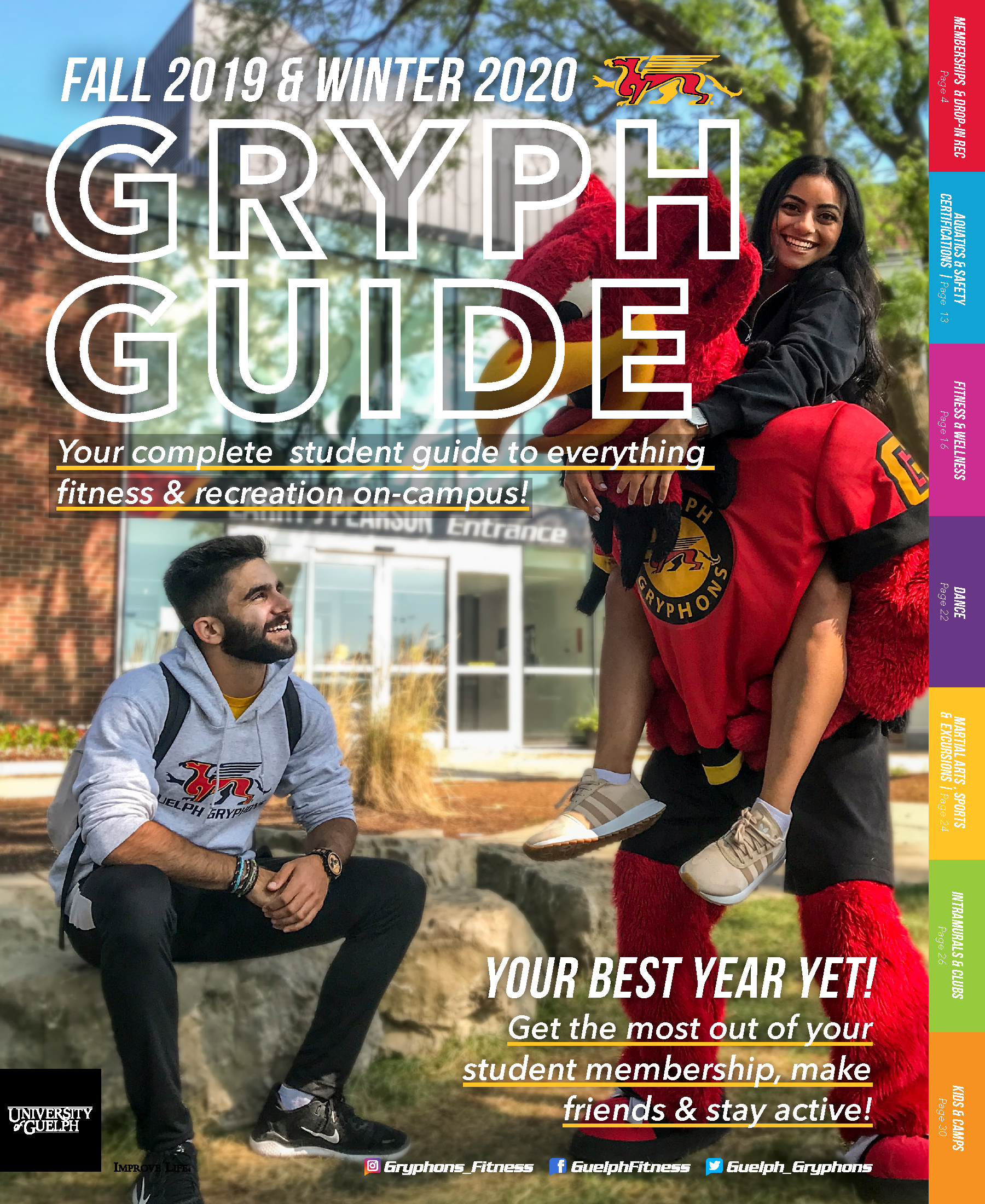 Fall 2019 Winter 2020 Gryph Guide